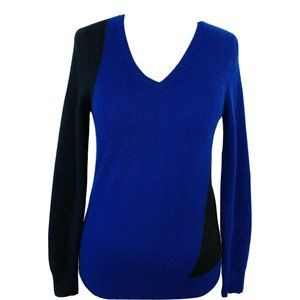 C By Bloomingdales Cashmere Sweater Colorblock
